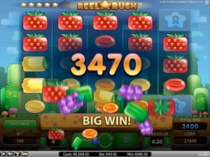 reel rush retro slot von netentertainment